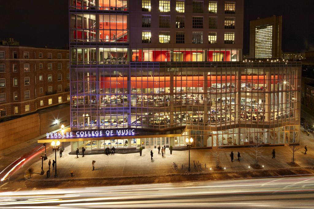 The Berklee College of Music in Boston.