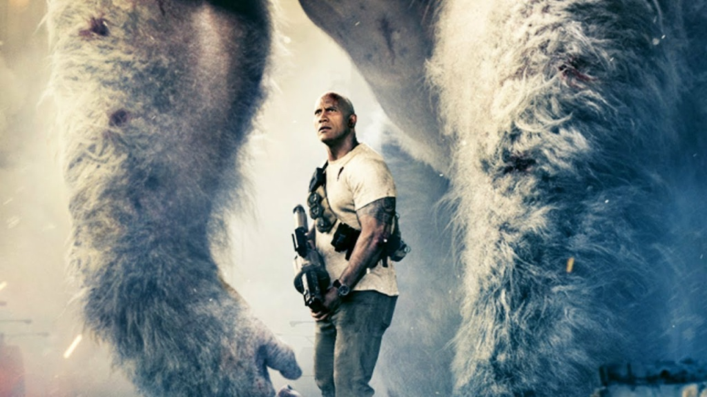 """Global icon Dwayne Johnson headlines the action adventure """"Rampage,"""" directed by Brad Peyton."""