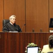 Lawyer Kathy Jorrie,(R) testifies that s