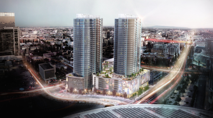 The future Circa mixed-use complex will feature nearly 650 luxury units.