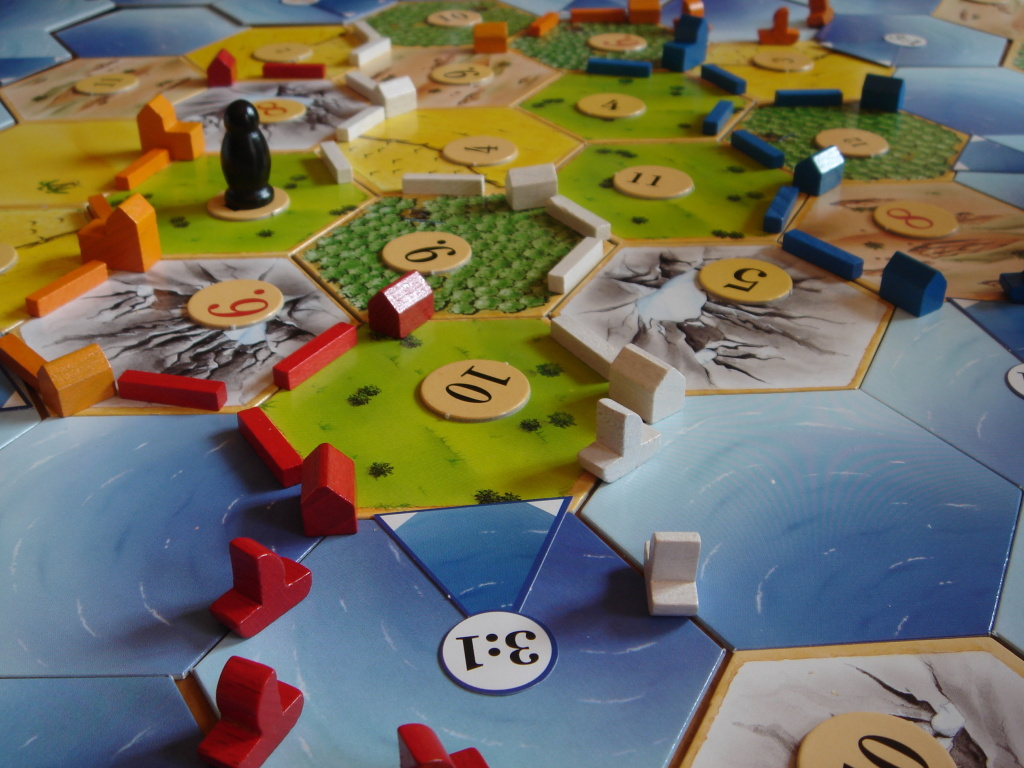 Settlers of Catan + Seafarers of Catan