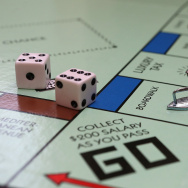 In this photo illustration, the Monopoly iron game piece is displayed on February 6, 2013 in Fairfax.