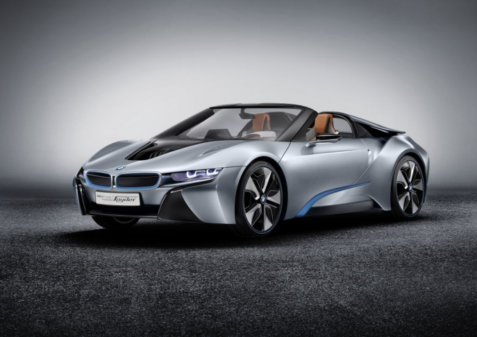 The new BMW i8 Spyder.