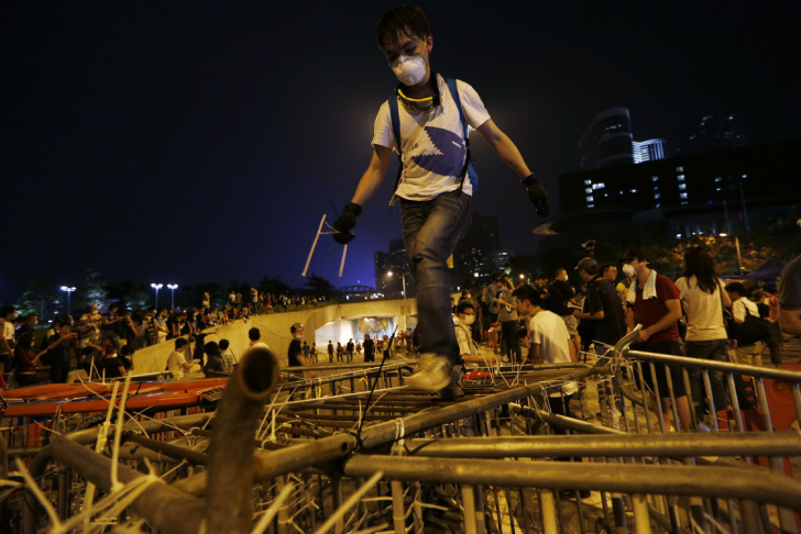 Demonstrator Hong Kong