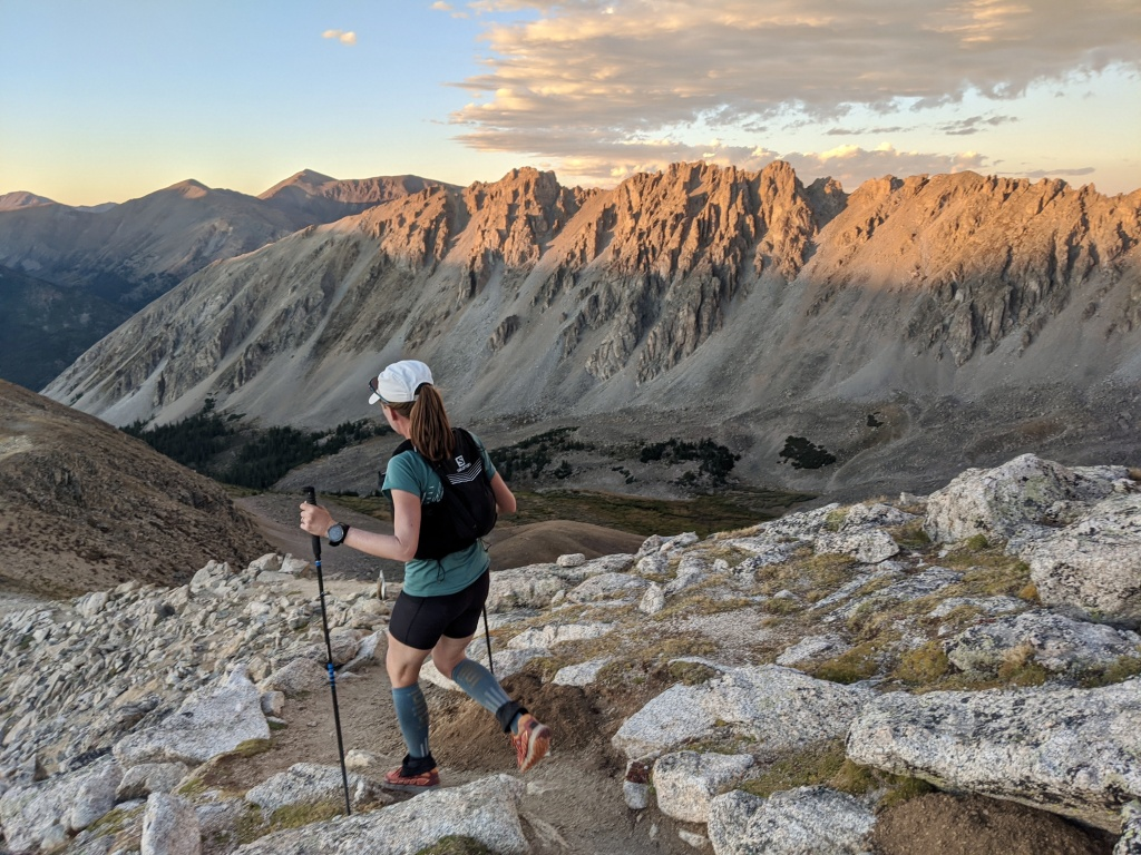 Meghan Hicks Nolan sets the Fastest Known Record for Colorado's Nolan's 14 trail.