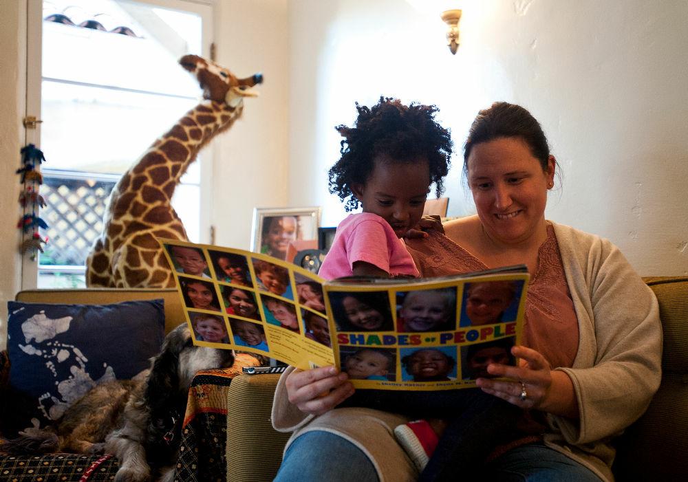 Trista and Luli Schroeder read