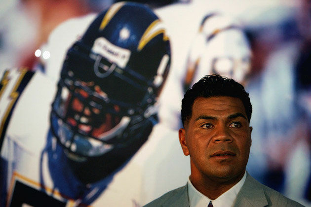 Junior Seau, former San Diego Charger has been found dead at his home in Oceanside.