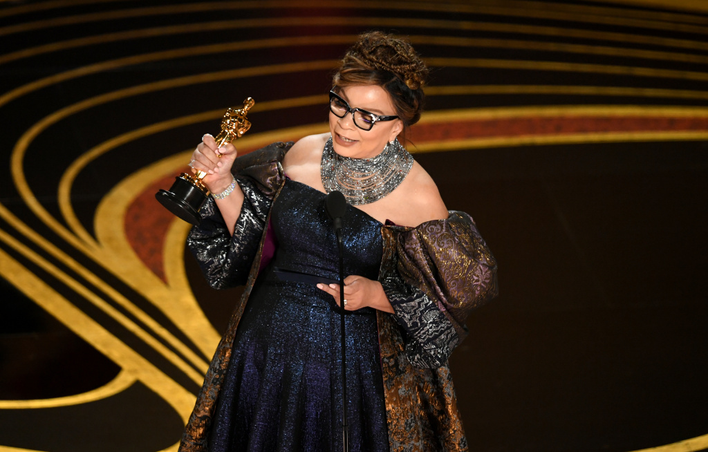 Ruth E. Carter accepts the Costume Design award for 'Black Panther' onstage during the 91st Annual Academy Awards at Dolby Theatre on February 24, 2019 in Hollywood, California.