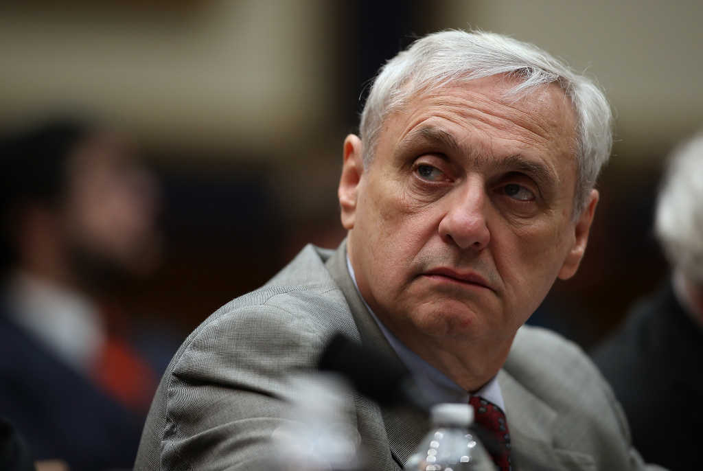 Ninth Circuit Appeals Court Judge Alex Kozinski looks on during a House Judiciary Committee hearing on March 16, 2017 in Washington, DC.