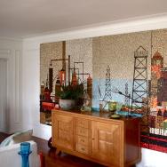 Mosaic John Smith Mural