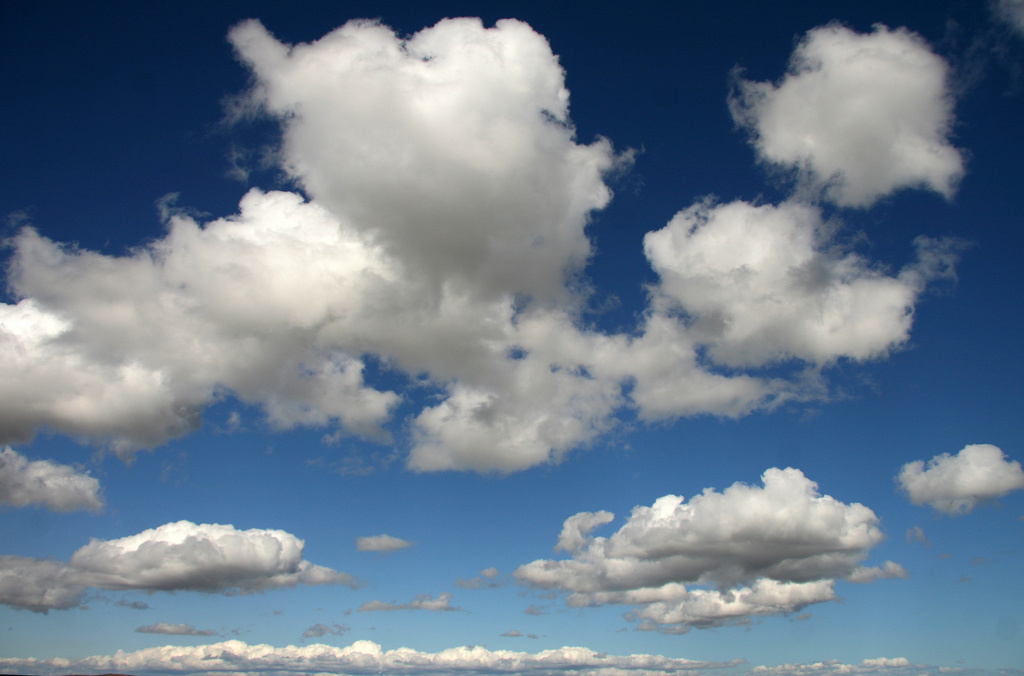 File photo of clouds.