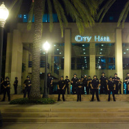 Anaheim Residents Protest Police Shootings Over Weekend