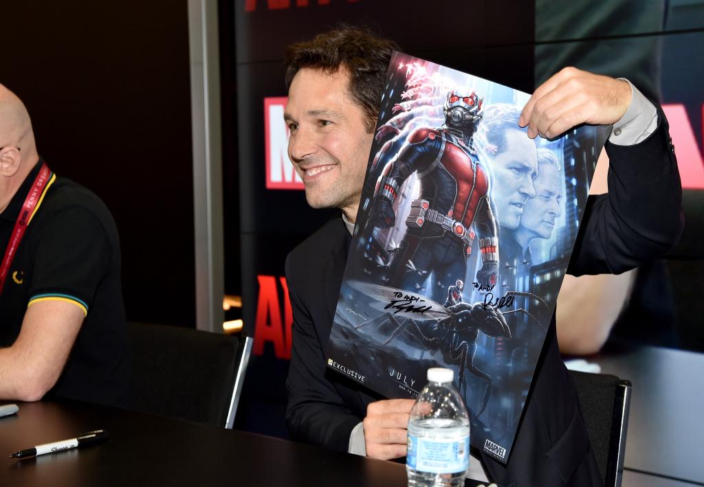 Actor Paul Rudd attends Marvel's