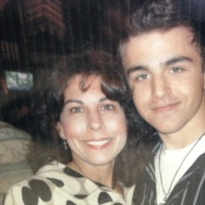 Zachary Champommier and his mother Carol