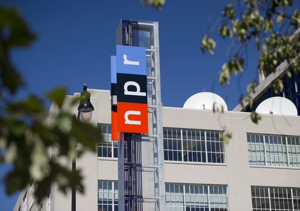 National Public Radio headquarters in Washington, DC