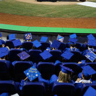Joe Biden Delivers High School Commencement Address At Marlins Park