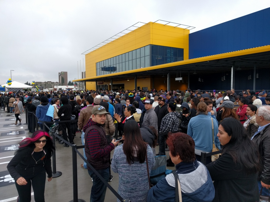 take two largest ikea in us opens in burbank 89 3 kpcc. Black Bedroom Furniture Sets. Home Design Ideas