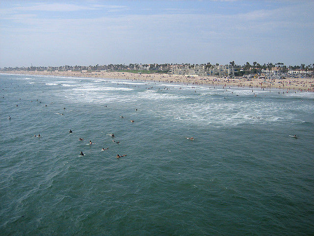 A file photo of Huntington Beach.