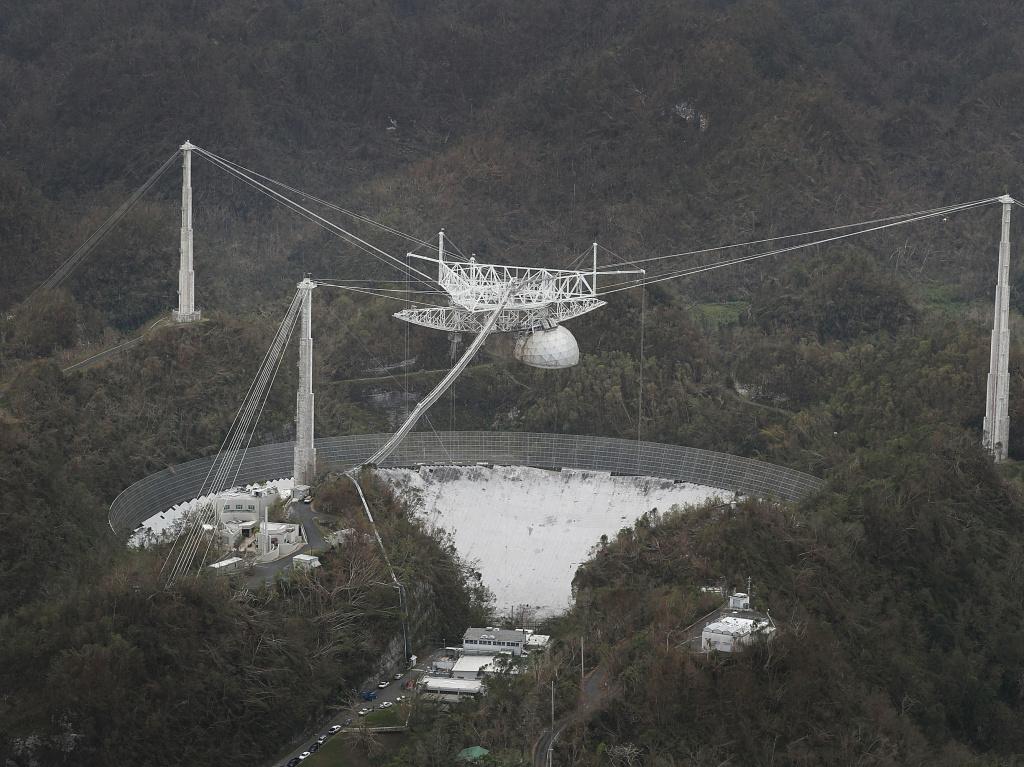 Puerto Rico's Arecibo Radio Telescope Damaged By Falling Cable - 89.3 KPCC