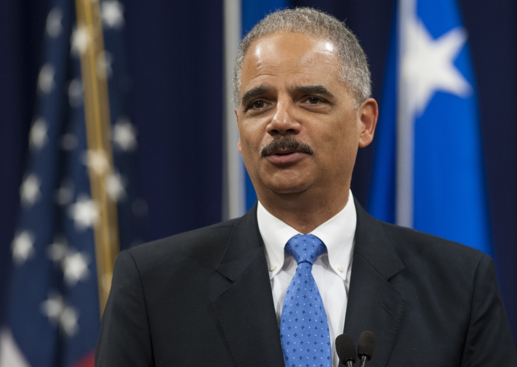 File photo: Attorney General Eric Holder is calling for major changes to the U.S. criminal justice system.