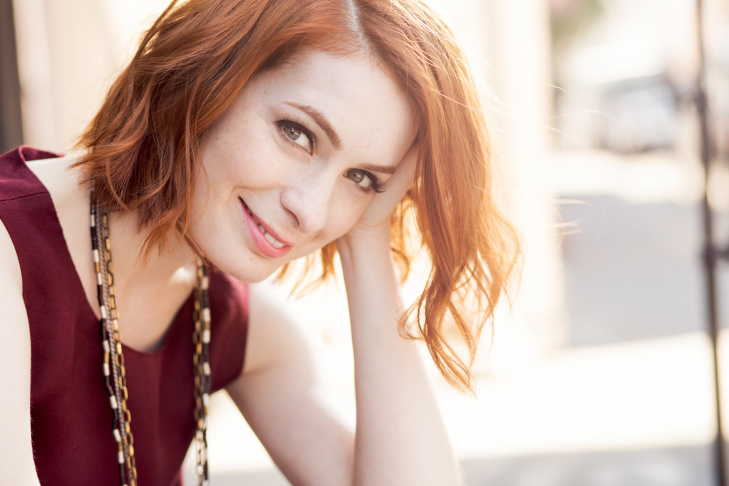 Felicia Day at the Nerdist Conival offsite during San Diego Comic-Con 2015.