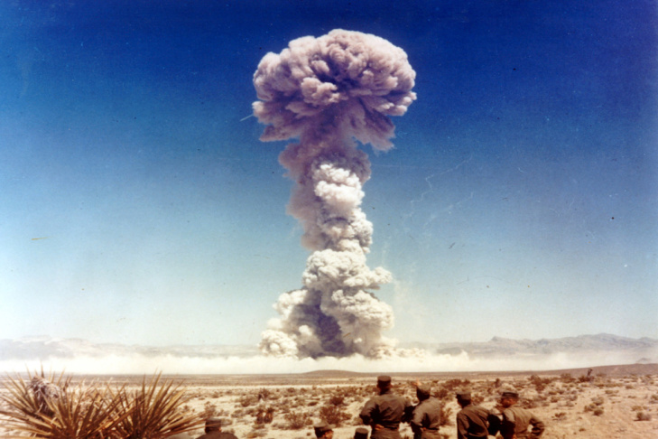 US nuclear weapons test in Nevada in 1951