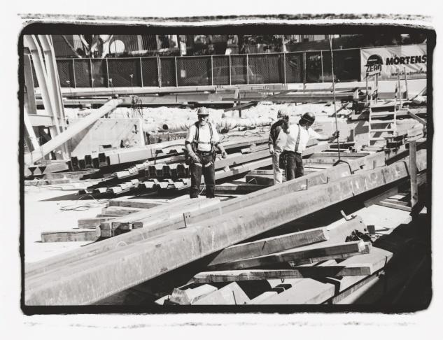 Gil Garcetti ironworkers