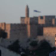 U.S. Republican Presidential Candidate Mitt Romney Visits Jerusalem