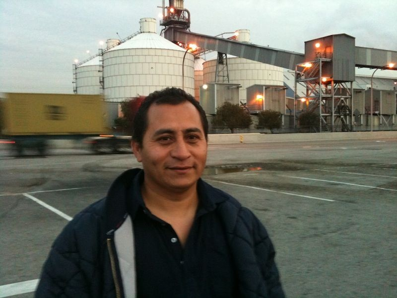 Jorge Castillo, former port trucker