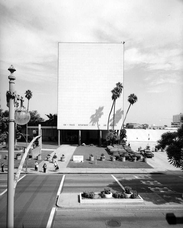 Located at 150 N. Los Angeles Street, the Police Administration Building served as the headquarters for the LAPD from 1955 to 2009.