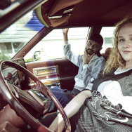 "Siddharth Dhananjay and Danielle Macdonald star in the film ""Patti Cake$."""