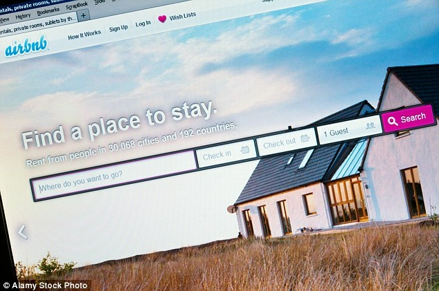 File image of the home that Zak Stone and his family rented through Airbnb
