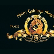 Logo for MGM.