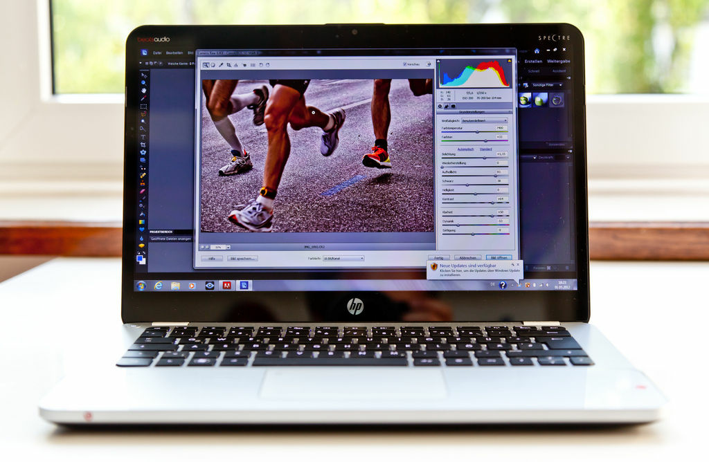 HP 14-inch Envy Spectre.