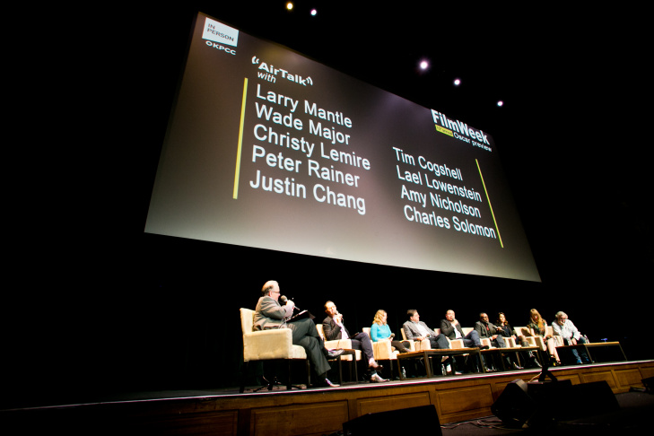 AirTalk FilmWeek Oscars preview event 2017