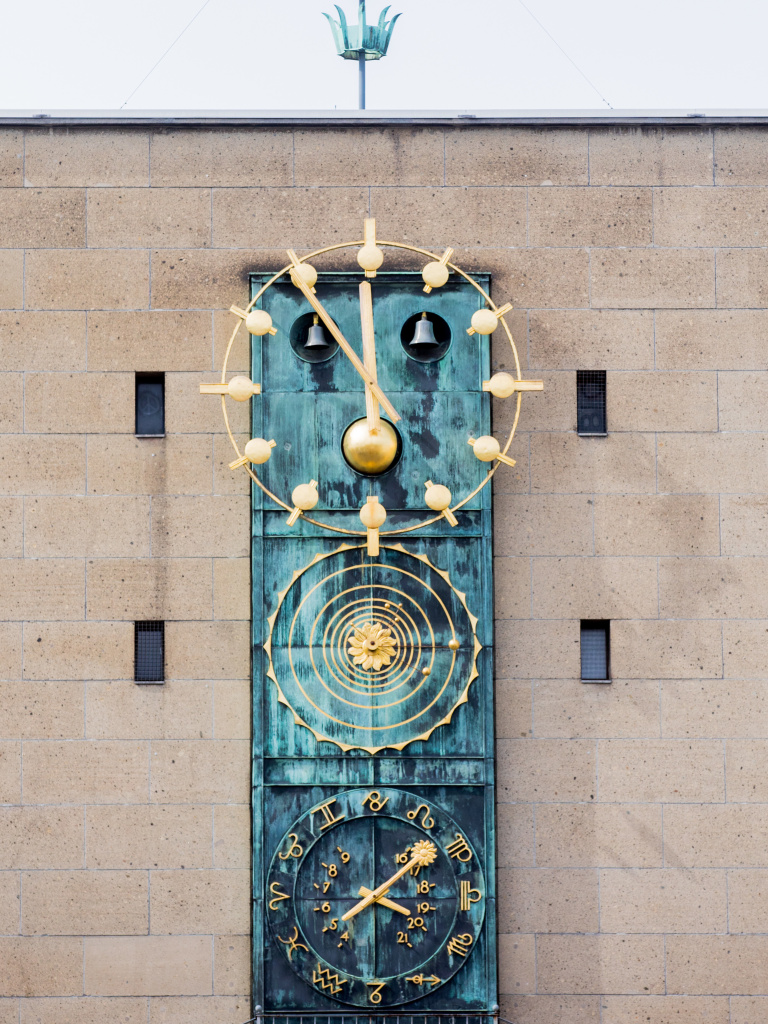 The European Union will take up legislation to stop changing its clocks twice a year, after a public survey showed strong support for the move. Here, a view of the astronomical clock at the University of Cologne in Germany.