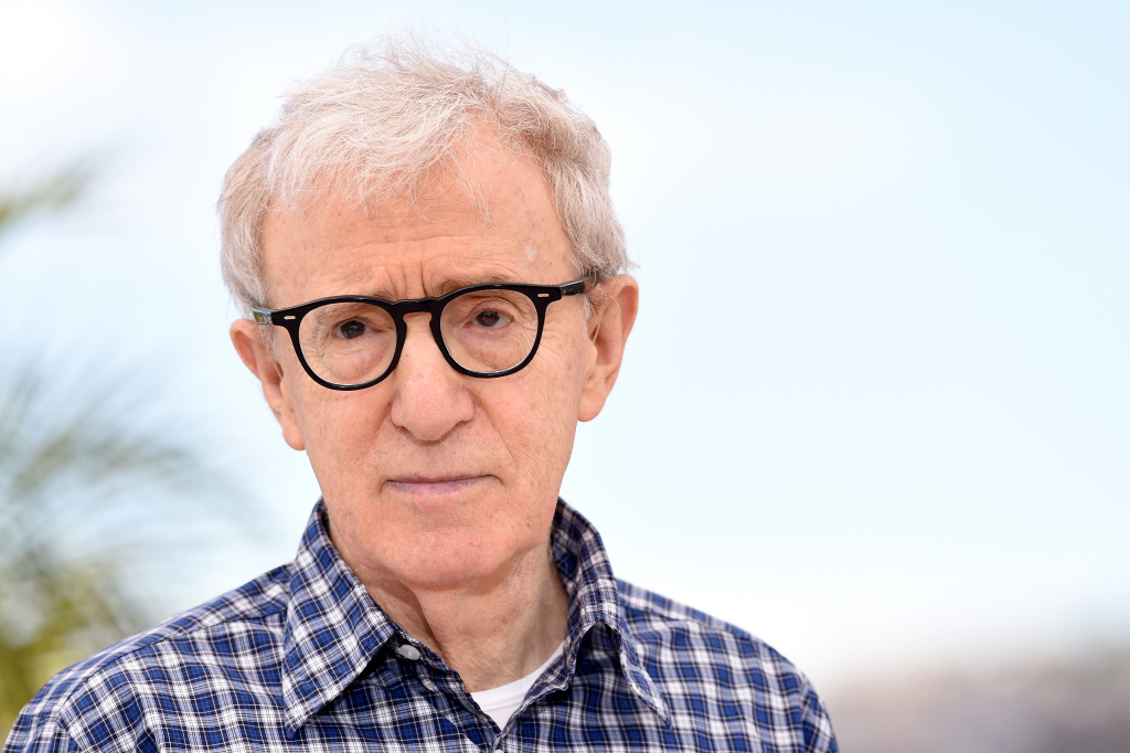Director Woody Allen attends a photocall for