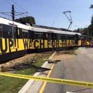 LA metro crash