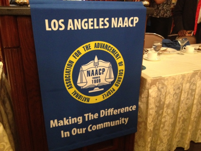 The NAACP LA Chapter held its annual dinner Thursday night without Donald Sterling.