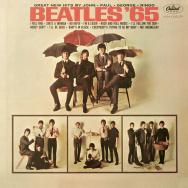 """Album cover for the Beatles' album, """"Beatles '65"""""""