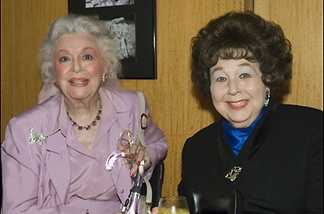 Actresses Jane Withers (right) with Ann Rutherford at an Academy tribute to Olivia de Havilland (6/15/06).