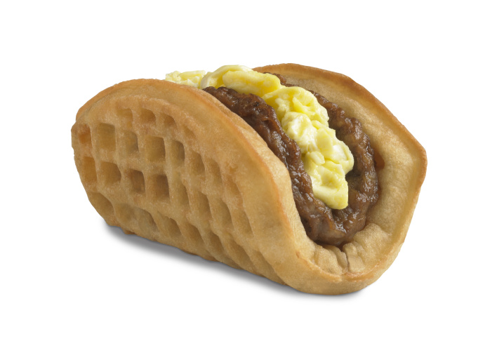 Taco Bell's new breakfast menu.