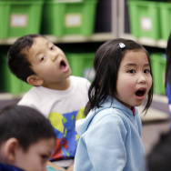 The Westminster School District plans to launch the first Vietnamese-English language immersion program at a California public school in fall 2015.  It joins a handful of other school districts across the country with these programs, including Seattle's pictured here.