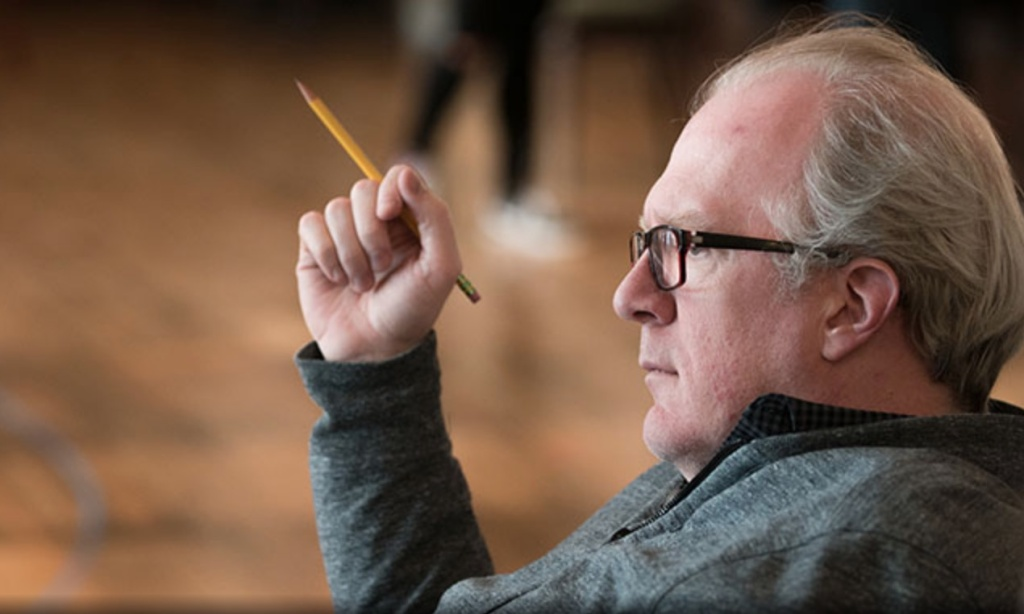 Playwright Tracy Letts.