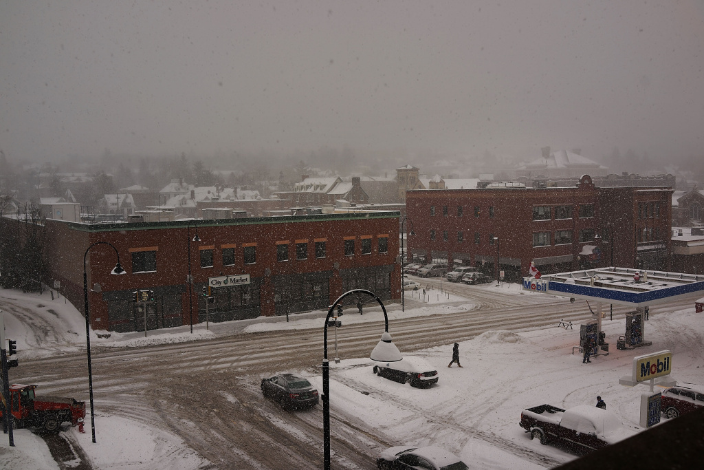 A view of downtown Burlington on February 5, 2014 in Burlington, Vermont.
