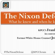 John Dean and 'The Nixon Defense'