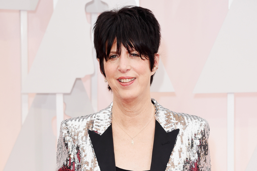 Songwriter Diane Warren at the 2015 annual Academy Awards.