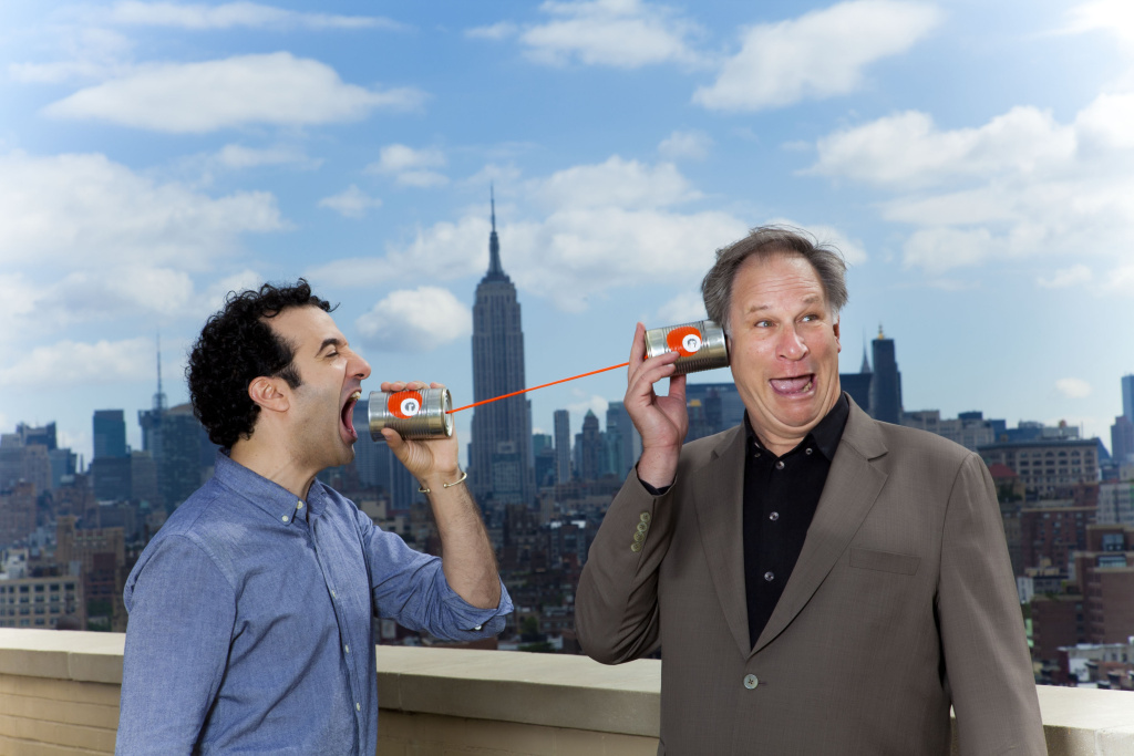 Jad Abumrad and Robert Krulwich of WNYC's Radiolab.