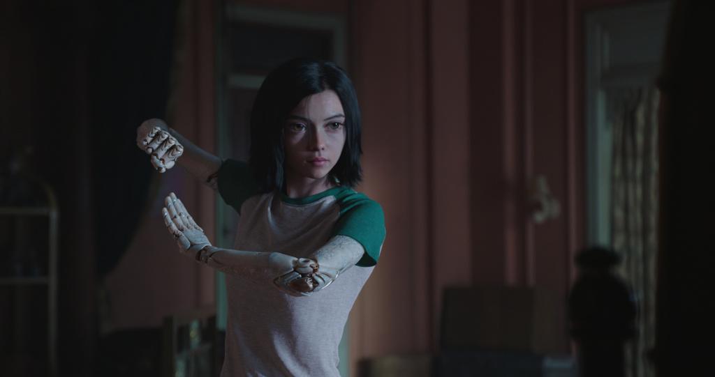 Rosa Salazar stars as Alita in Twentieth Century Fox's ALITA: BATTLE ANGEL