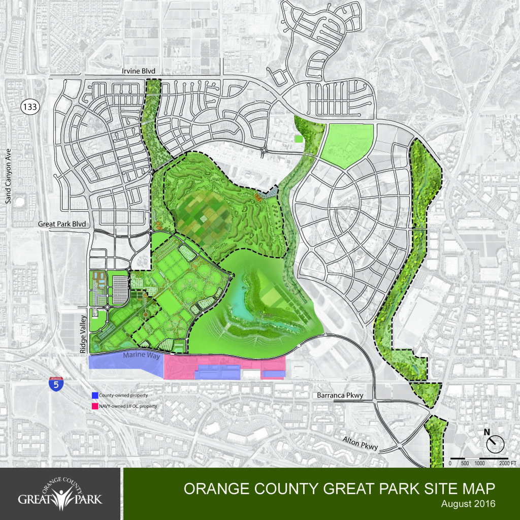 Orange County officials had said they would build a homeless shelter somewhere in the purple area, though they did not specify where before Irvine shot it down the proposal.